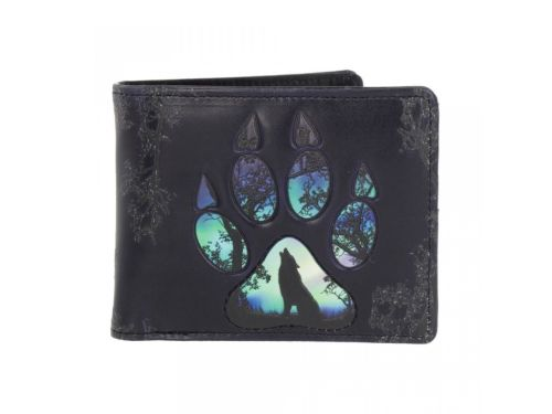 Embossed Wallet - Footprints Wallet
