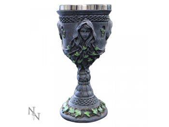 Mother Maiden Crone Chalice