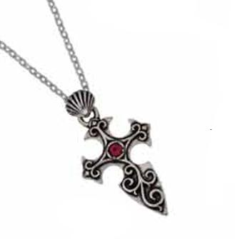 Santiago Cross Pendant