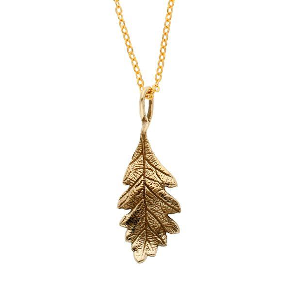BRONZE Oak leaf