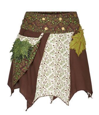 Nature spirit wrap skirt