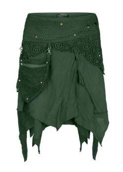 Pixie wrap mini skirt (GRN)