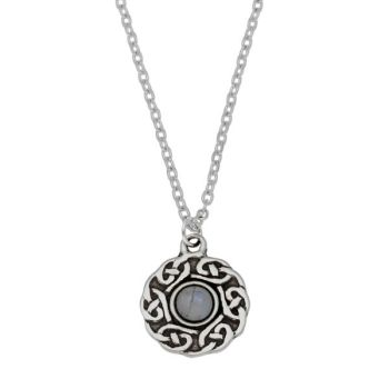 Celtic Circle Moonstone Pendant by St Justin of Penzance