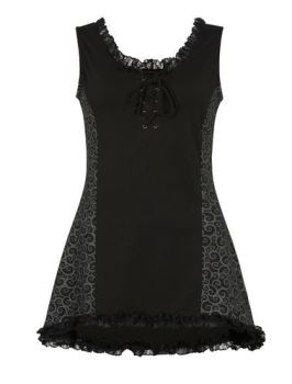 Gothic Style Long Top