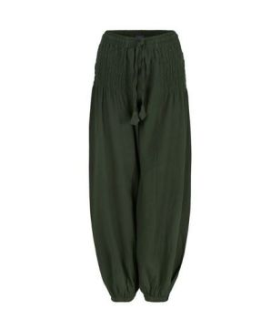 Unisex Wide Leg Long Trousers (GRN)