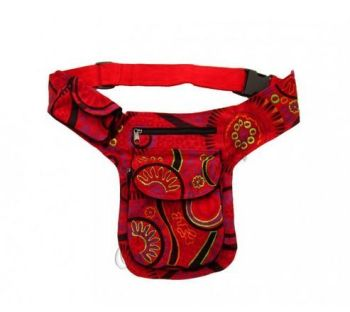 Cotton Mandala print belt bag