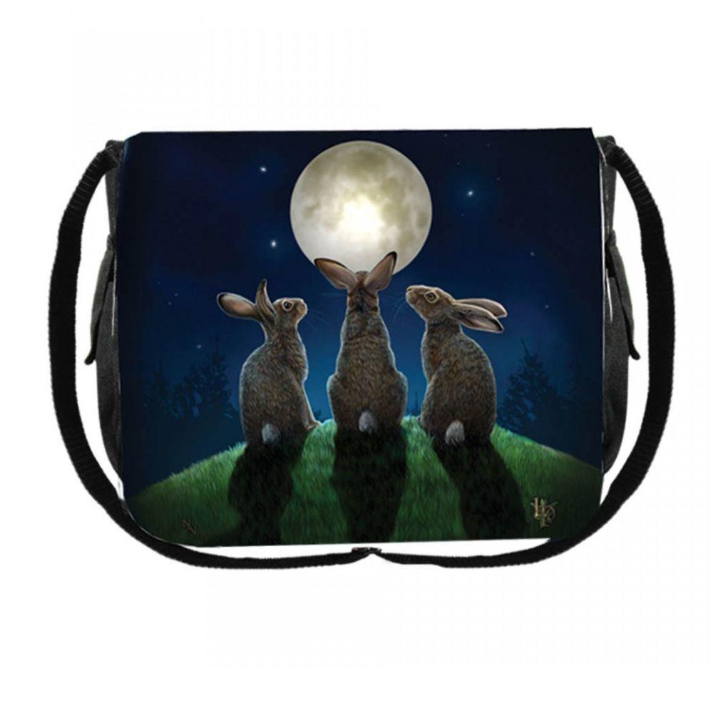 Messenger Bag - Moon Shadows