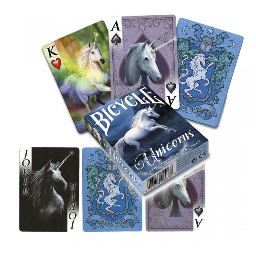 Anne Stokes Unicorns Playing Cards (Bicycle Cards)