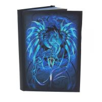 Metallic Embossed Journal Sea Blade 21cm