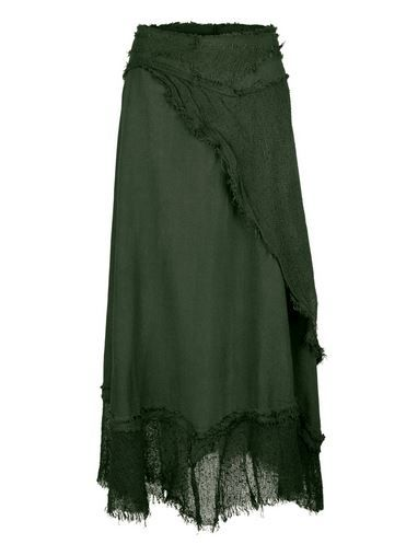 Long Gypsy Wrap Skirt (GRN)