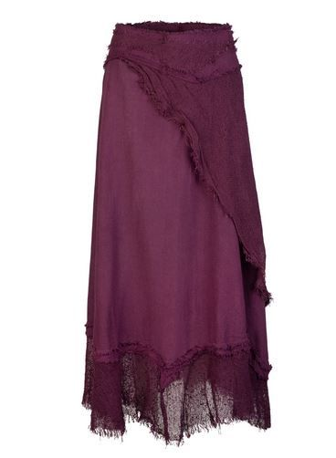 Long Gypsy Wrap Skirt (PUR)