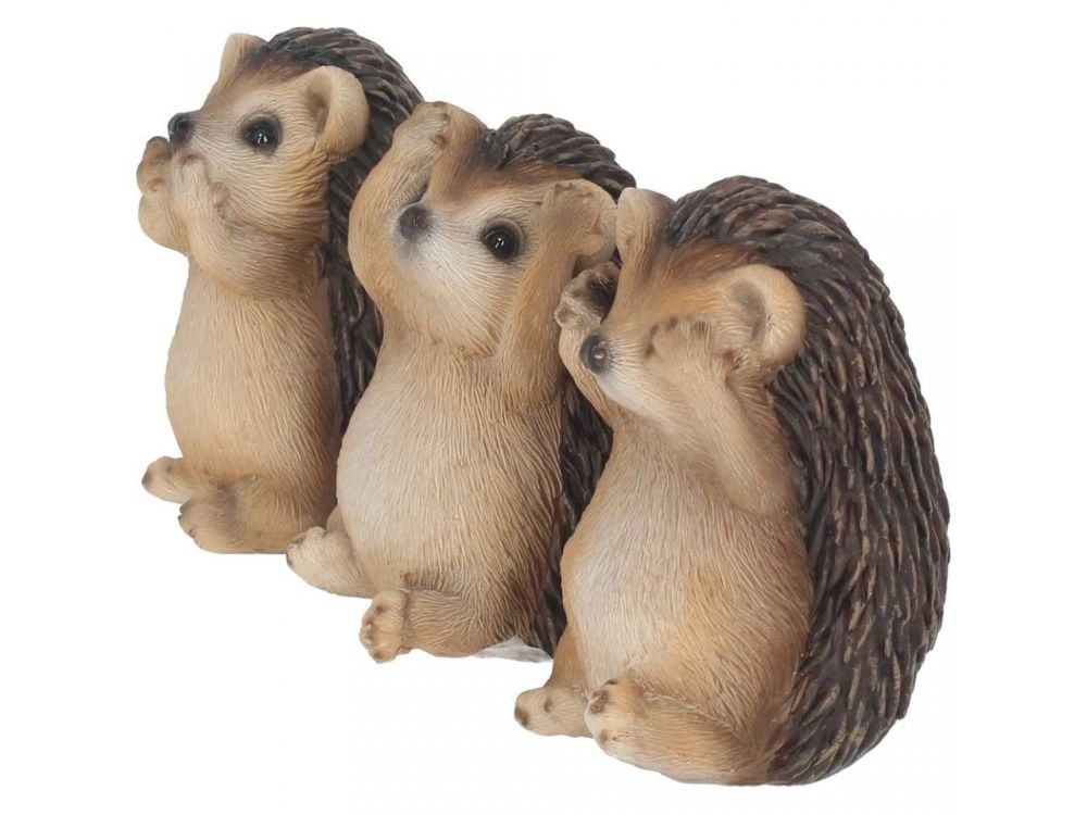 3 Wise Hedgehogs