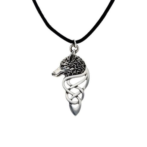 Celtic Wolf Pendant by St Justin of Penzance