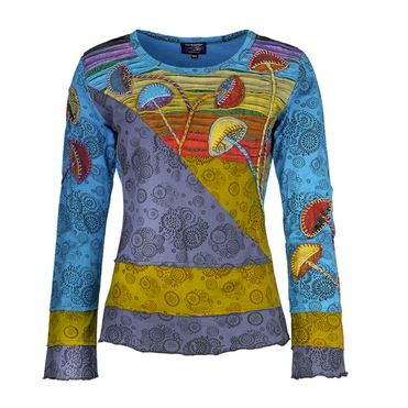 Mushroom long sleeve top (BLU)