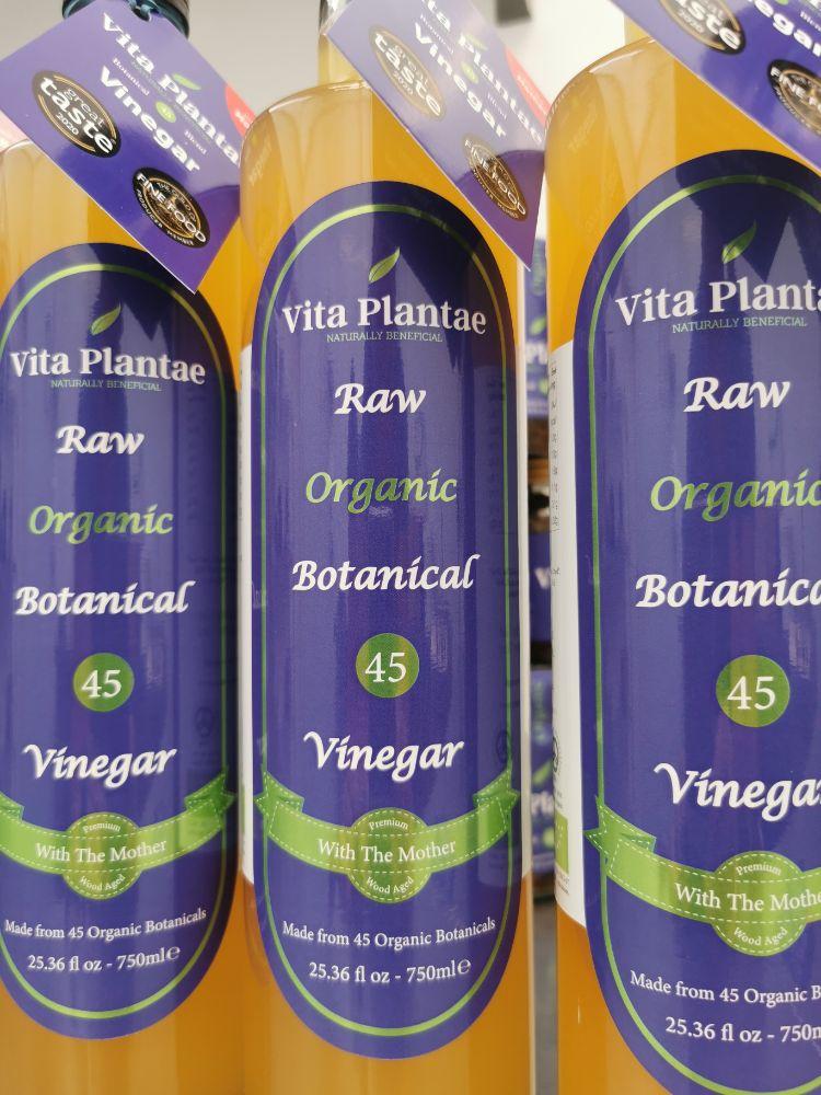 Vita Plantae Botanical 45  Vinegar organic