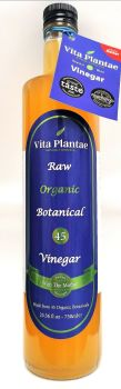 Vita Plantae Botanical 45 Vinegar 2 X Bottles