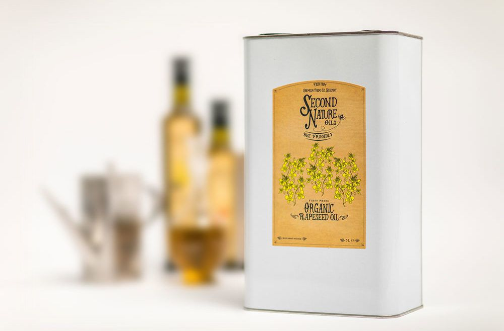Organic Rapeseed Oil 5 Litre Can