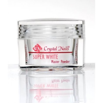 Crystal Nails Acrylic Powder Super White 28g