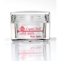 Crystal Nails Acrylic Powder Super White 17g