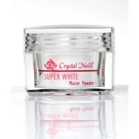 Crystal Nails Acrylic Powder Super White 17g