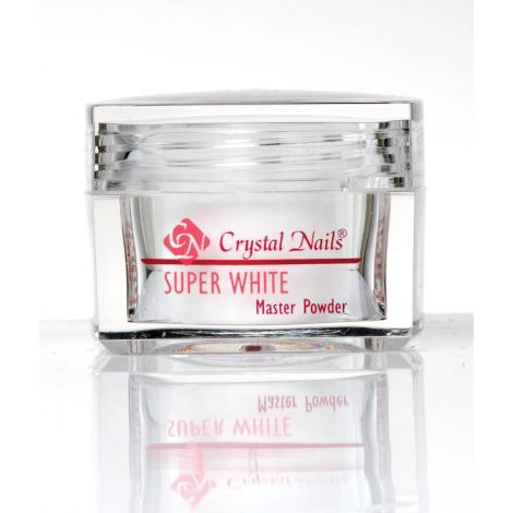 Crystal Nails Acrylic Powder Super White 100g