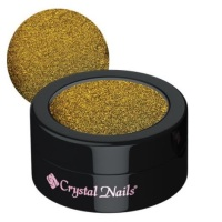 Crystal Nails TigerEye Gold Chrome