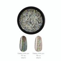 Crystal Nails Galaxy Holo Chrome