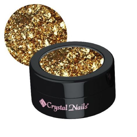 Crystal Nails Platinum Foil - Gold