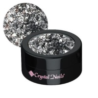 Crystal Nails Platinum Foil - Silver