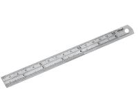 150mm / 6 inch Metal Ruler