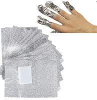 Foil Nail Wraps 100pcs