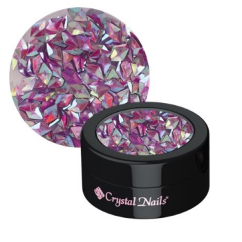 Crystal Nails Decor Glitter 3D Violet