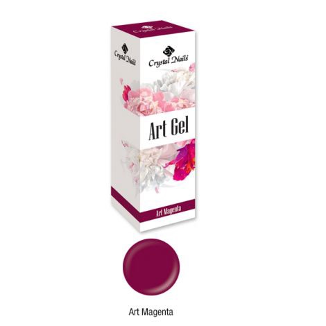 Crystal Nails Art Gel - Magenta