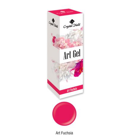 Crystal Nails Art Gel - Fuchsia