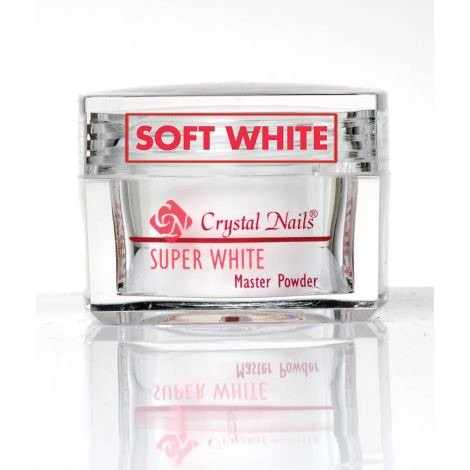 Crystal Nails Soft White Acrylic Powder 17g