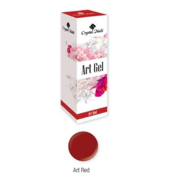 Crystal Nails Art Gel - Red