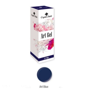 Crystal Nails Art Gel - Blue