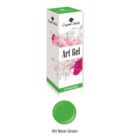 Crystal Nails Art Gel - Neon Green