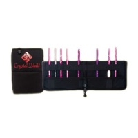 Brusher Holder with Crystal Nails Logo