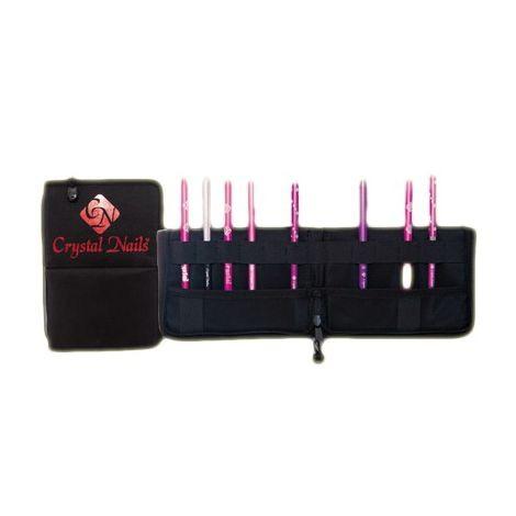 Brusher Holder with Crystal Nails Logo