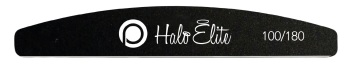 Halo Elite Black Nail File 100/180 Pack of 5