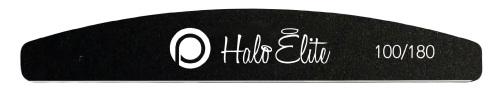 Halo Elite Black Nail File 100/180 Pack of 5
