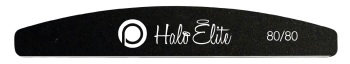 Halo Black 80/80 Nail Files - Pack of 5
