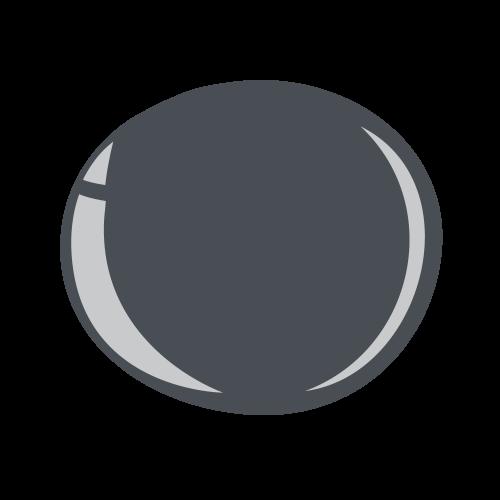 Halo Gel Polish - Charcoal Grey