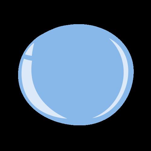 Halo Gel Polish - Powder Blue