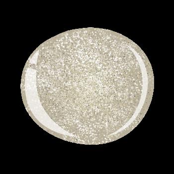Halo Gel Polish - White Gold Sparkle