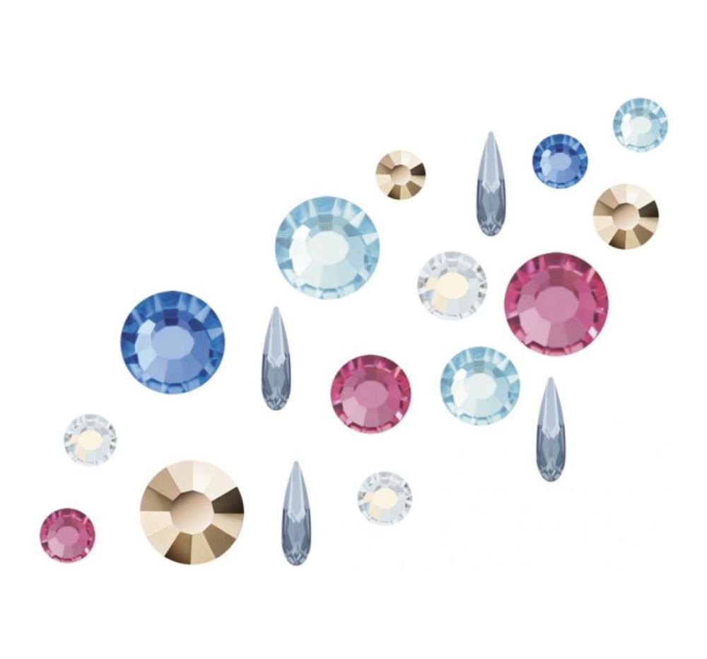 Crystal Parade Preciosa Nail Art Mix The White Rabbit 100 Mix