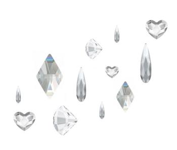 Crystal Parade Swarovski Nail Art Shape Mix Pack of 12