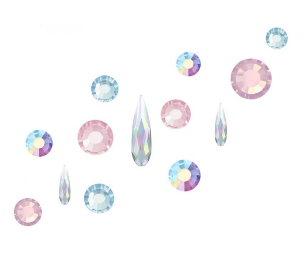 Crystal Parade Preciosa Nail Art Mix Alice Pack of 100