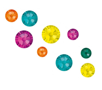 Crystal Parade Swarovski Totally Tropical Pack of 100